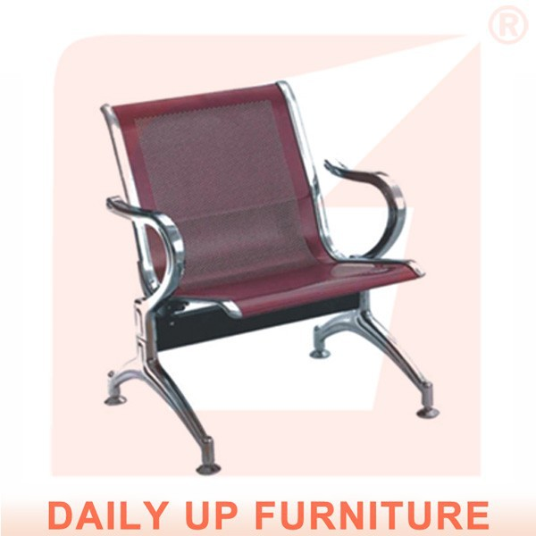 Strong Frame Big Boss Chair Metal Office Armchairs Lobby Room Public Waiting Room Commercial Furniture
