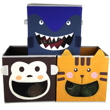 Cute Designs Kids toys storage boxes & bins without lid