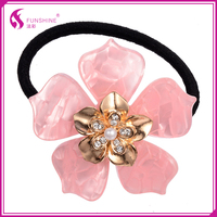 Fancy hair accessories Rubber band hair holder for women