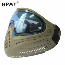 Army Military Airsoft Mask Paintball Mask with Dye I4 Thermal Lens