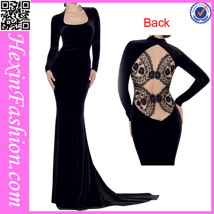 Black Evening Best Wester Ladies Office Wear Dresses Dress Designs From Factory