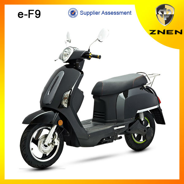 ZNEN MOTOR EEC fashion electric scooter with Removable Lithium