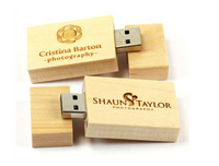 Alibaba Stock Price Engrave Logo OEM Bulk 1GB Wooden Stick USB Flash Drives