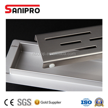 Convenient stainless steel shower trench drain grate cover