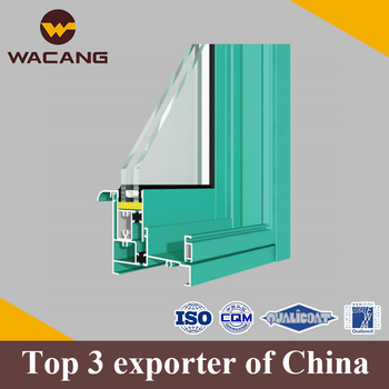 Different surface processing custom aluminium window frame profile