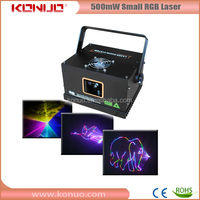 500mW Small RGB Animation programmable laser lights