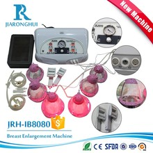 Factory Price Breast Suction Cups Vibrating Breast Massager Vacuum Butt Enlargement Pump Machine IB-8080