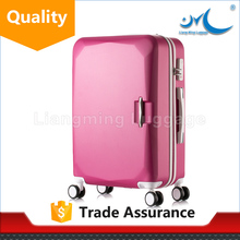 china cheap abs plastic materials luggage suitcase