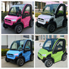 60V 3KW 2 seat small cars cheap electric cars four wheel electric car for sale with EEC certification