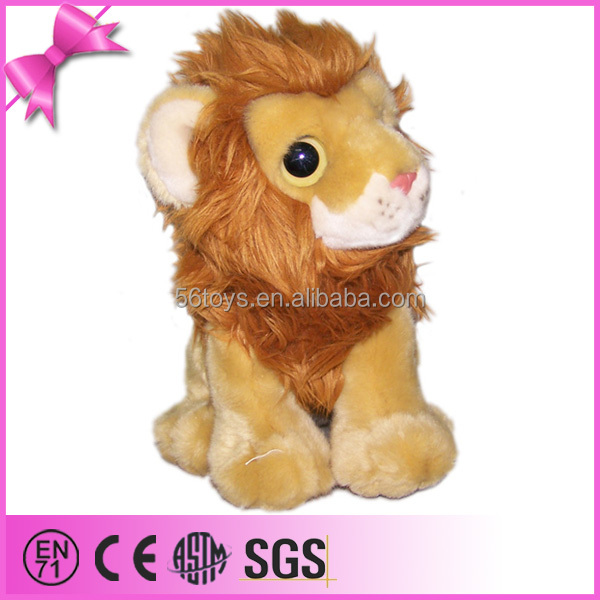 wholesale cheap stuff jungle animal plush lion toy