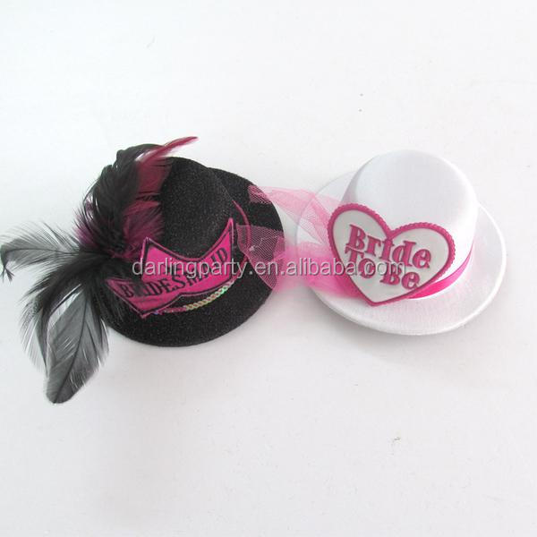 hot selling party bride to be mini hats for hen party
