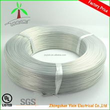 UL1332 teflon wire, Transparent Teflon Insulated tinned copper electrical wire