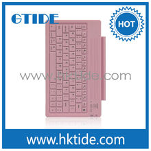 Gtide pink color leather case silicone keyboard bluetooth 3.0 for ipad air alibaba in Russian