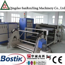 Industrial hot melt adhesive electrical plastic heat sealing film laminating coating machine