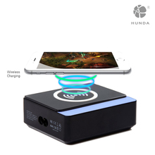 Desktop charging station universal 8 port usb charger with QI standard wireless 5V 1A mobile phone charger