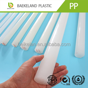 Extruded 100% Virgin Material Plastic PP Rod