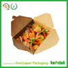 High quality paper food box lunch paper box fast food paper box