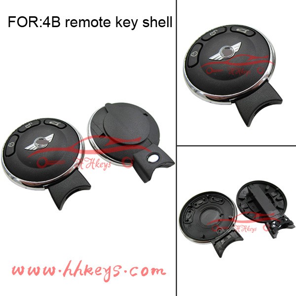 Remote Key Shell for BM Mini 3 button Car Smart Remote Key with 100%high quality
