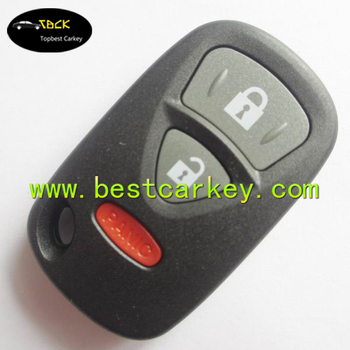 Topbest new seller remote key with 2+1 buttons car remote shell