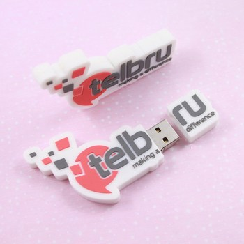 Custom PVC Rubber USB Flash Drive