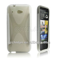 High quality X Line TPU case For HTC Desire 601,X-type Soft cover for HTC Desire 601 case