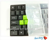 promotional item silicone keyboard cover made in china