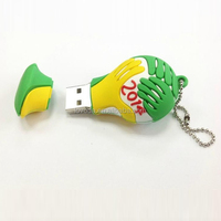 Fashion outlook world cup 2014 Usb Stick with Key Ring/usb flash drive 500gb/promotional usb hot new products for 2014 LFWC-01