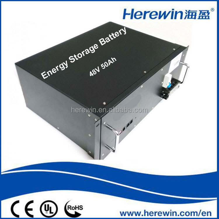 deep cycle lithium ion rechargeable battery 48v 50ah for solar storage