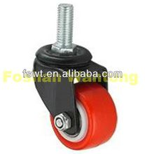 Mini Duty Rolling Industrial Machines Hauling Universal adjustable scaffolding caster