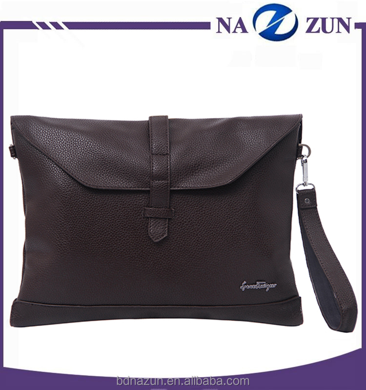 Hot Selling Multi-function Business Office Conference Leather Bag Portfolio