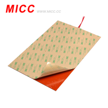 MICC Hot sale 12v electric silicone rubber heater bed heating mat for 3D printer