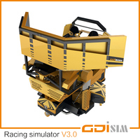 Gaming Racing Simulator Machine double seat