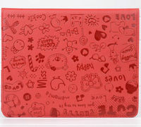 hello kitty leather case for ipad 3,new design leather case for ipad,