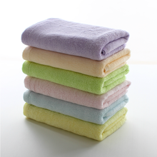 organic 100% bamboo square small baby hand towels