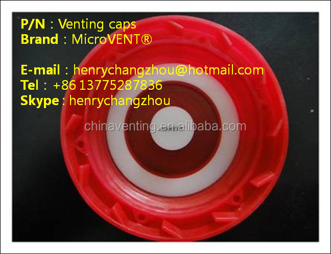 <MicroVENT> venting bottle cap for agriculture fertilizer (molded component)