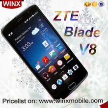 Arrival ZTE Blade v8 mobile phone android 2GB+16GB/3GB+32GB Gold/Grey