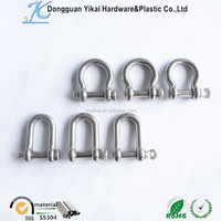 Factory Supply Shackle Metal Shaped Shackle