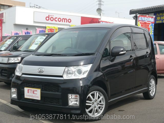 daihatsu move black 2010 Good looking and Reasonable japan daihatsu used car