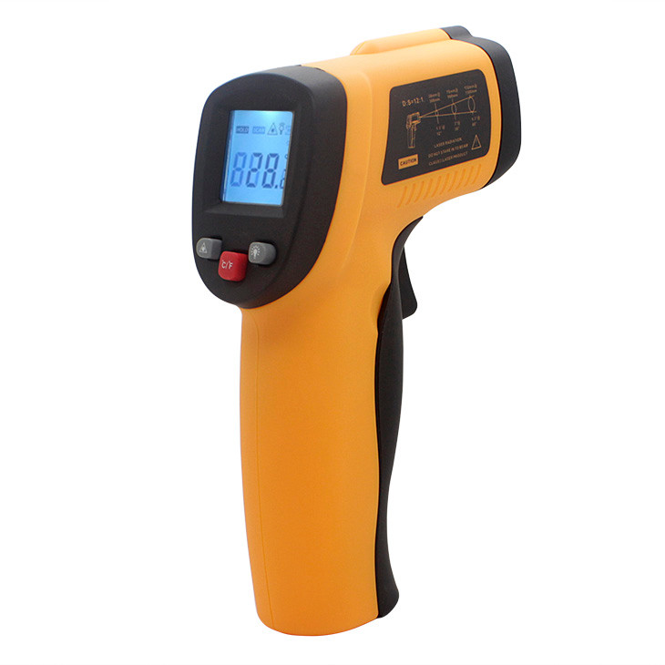 Hot water thermometer laser electronic industrial infrared thermometer