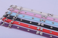 Adjustable PU Leather Rivet Spiked Studded Pet Puppy Dog Collar Neck Strap
