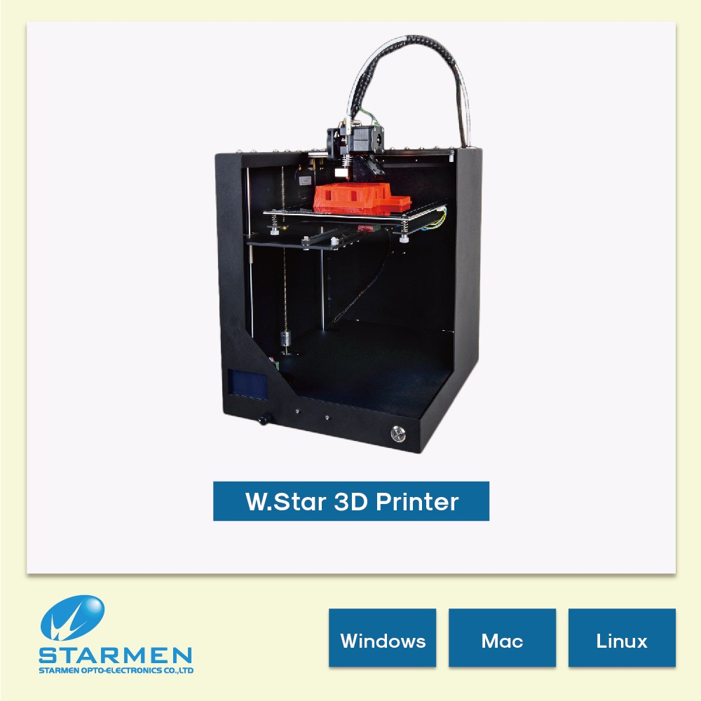 Made in Taiwan 1.75mm 3D Printer digital machine for 3d printing