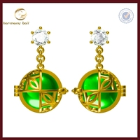 harmony chime ball fashion earring mask designs new model earrings
