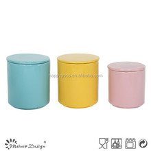 Wholesale ceramic modern storage Jars with lid