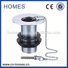 Custom Wholesale Public Oil Rubbed Grid Waste Drainer Plug Assembly