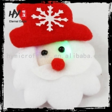 Promotional wholesale new product brooch for chrismas, santa clause pins, new fashion brooches