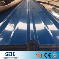 Alibaba wholesale Metal Light Weight Galvanized Prepainted Roofing Steel Material / PPGI GI Corrugated roofing Sheet