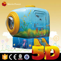 Bring BIG fun to kids 4d mini movie