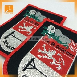 Design Custom 3D Logo Heat Transfer Flocking Badges and Patches for Jacket