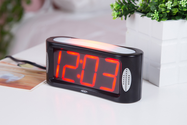 Home Decoration Digital Table Clock/Desk Clock With White Nightlight