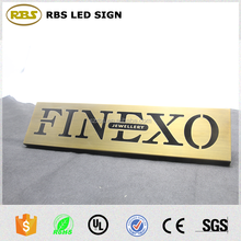 factory directly house / hotel door number Metal logo for house